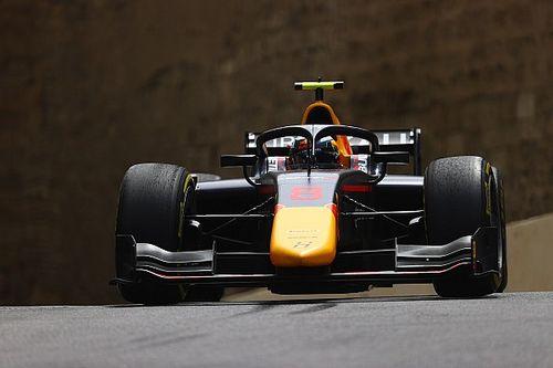 Vips domineert chaotische Formule 2-sprintrace, Viscaal vierde