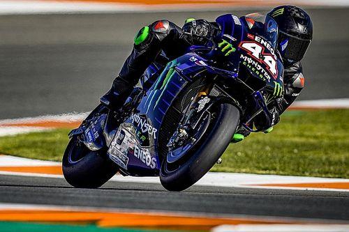 Watch Hamilton's onboard lap riding Rossi's Yamaha MotoGP bike