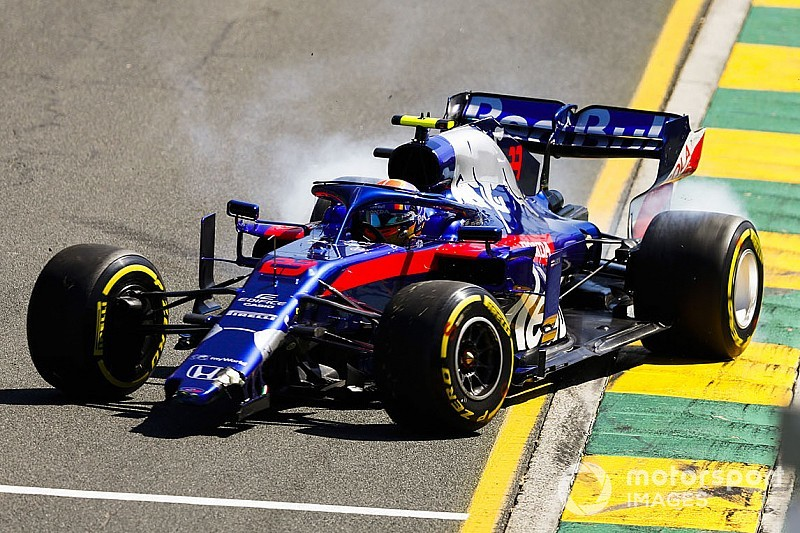 Photos - Les F1 2019 en piste à Melbourne