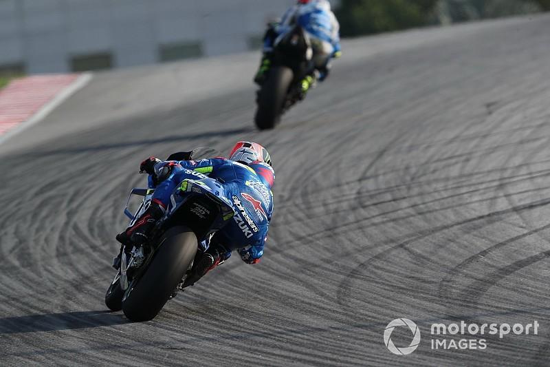 Los pilotos de MotoGP ensayan una alternativa a la sanción de pérdida de una posición