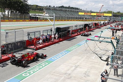 La F1 se quedó sin tele y radio en Imola: ¡falló la fibra óptica!
