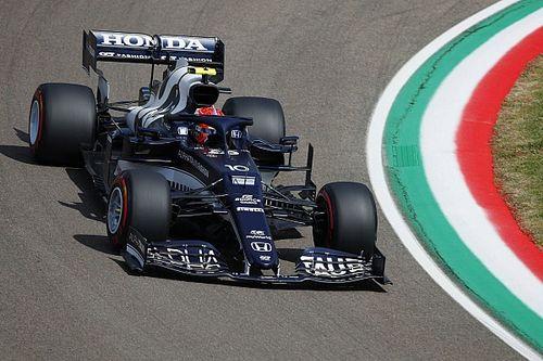 F1エミリア・ロマーニャFP2速報:メルセデス勢に続きガスリー3番手。角田7番手、フェルスタッペンはトラブル