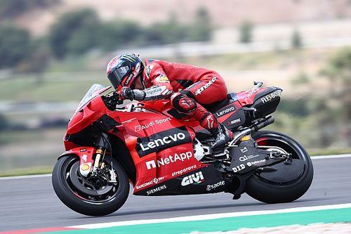 Hasil FP2 MotoGP Portugal: Bagnaia Melesat, Rins Stabil