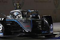 De Vries aan kop tijdens eerste training E-Prix van Riyadh