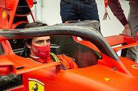 Sainz ilk kez Ferrari simülatörüne geçti