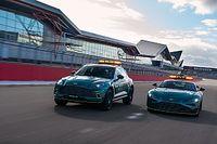 Así es el coche de seguridad Aston Martin para la F1