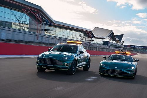 F1: Aston Martin divulga imagens dos novos carros médico e de segurança