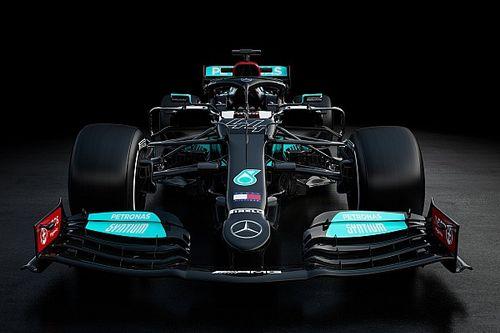 Leleplezték a Mercedes 2021-es autóját, a W12-t! (galéria)