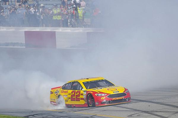 NASCAR in Richmond: Joey Logano staubt bei 300. Start den Sieg ab