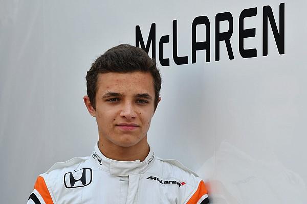 McLaren confirma Norris como piloto reserva em 2018