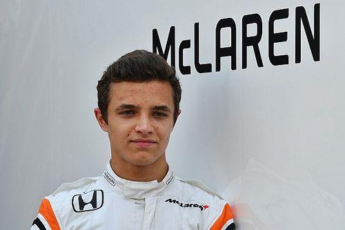 Lando Norris, piloto reserva de McLaren F1 para 2018