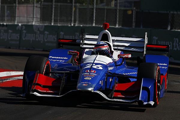 IndyCar 【インディカー】開幕戦:佐藤琢磨「移籍初戦は素晴らしい結果」