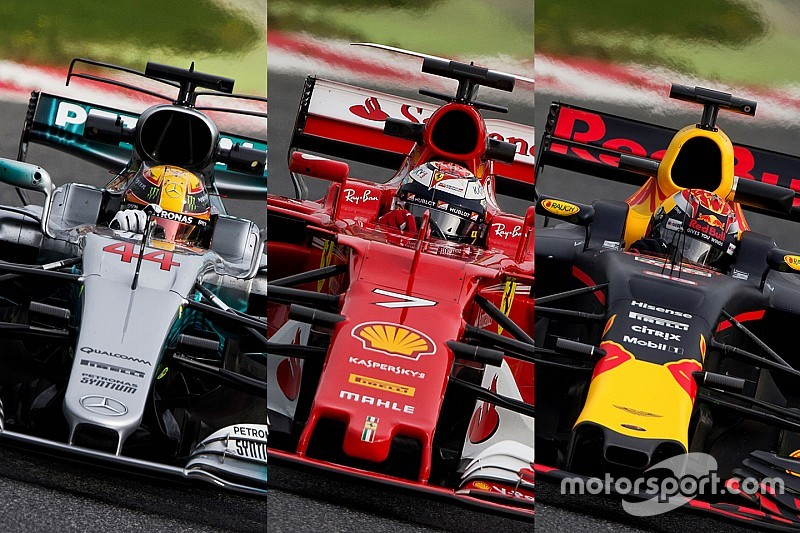 Tech analysis: The concepts that split Mercedes, Ferrari and Red Bull