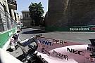 F1 Pérez y su golpe en Bakú: