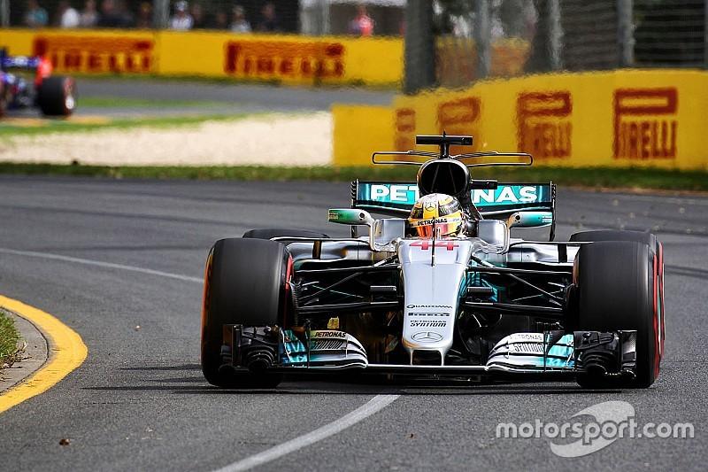【F1】メルセデス「初日のハミルトンは本当に素晴らしかった」