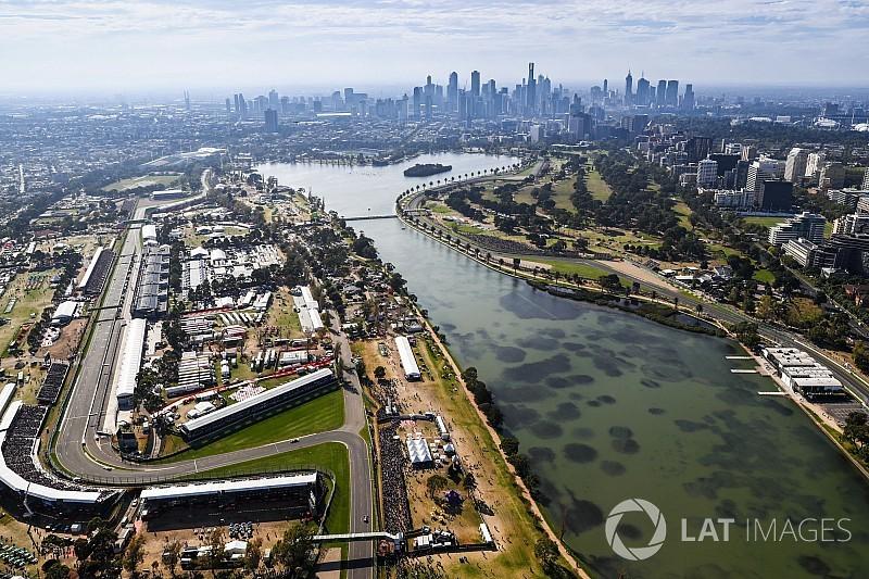 FIA добавила третью зону DRS на «Альберт-парке»