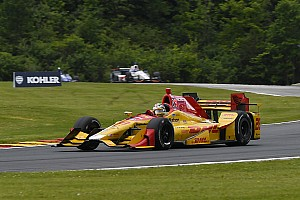 IndyCar Practice report Mid-Ohio IndyCar: Hunter-Reay fastest in second practice