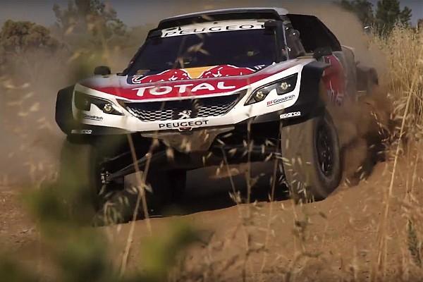 Peugeot onthult 3008DKR Maxi voor Dakar Rally 2018