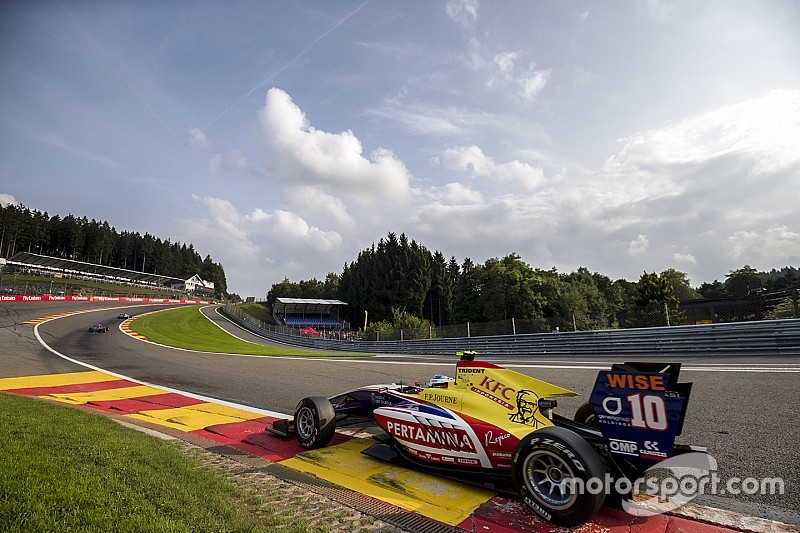 Spa GP3: Alesi takes third straight sprint race win