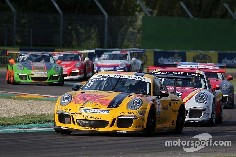 Carrera Cup Italia, bis di punti per Linossi a Imola: