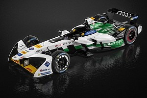 Формула E Новость Audi показала машину для Формулы E
