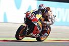MotoGP El warm up fue de Márquez en Aragón