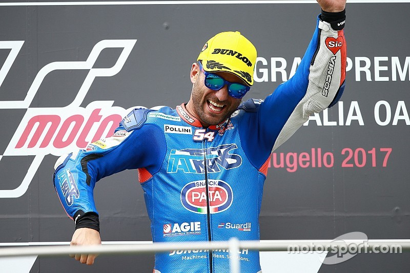 Mattia Pasini, impressionnant, a fait trembler le Mugello