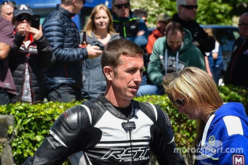 Family issues update on injured TT rider Mercer