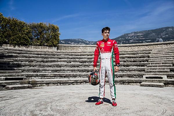 FIA F2 Breaking news Leclerc: Senang bisa start dari posisi pole di Monako