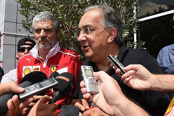 Ferrari: Marchionne carica la squadra nel dopo Silverstone