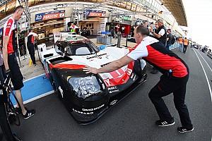 24 heures du Mans Actualités Porsche, la Journée Test et l'inconnue des pneus