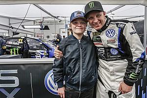World Rallycross Noticias El hijo de Solberg se convertirá en el más joven en pilotar un coche rallycross