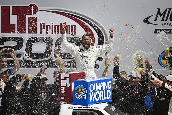 NASCAR Truck Noticias de última hora Bubba Wallace se lleva la victoria en Truck