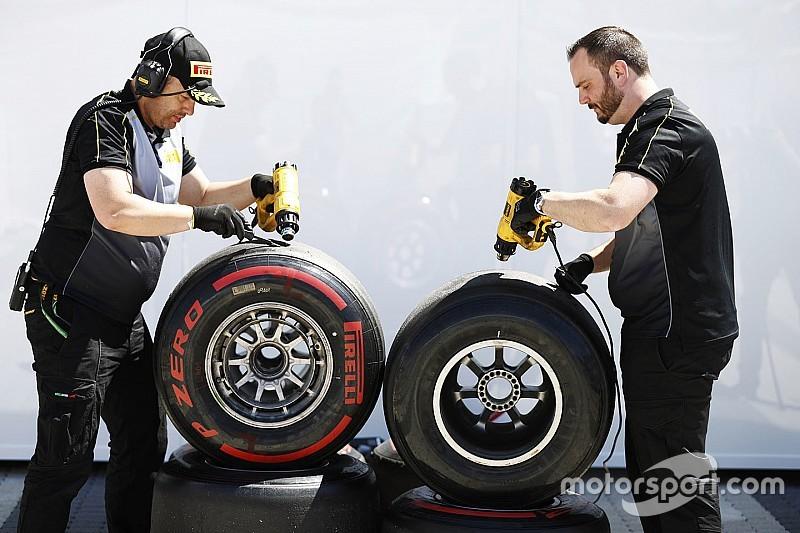Разница между составами шин в Испании составила две секунды
