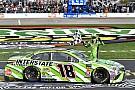 NASCAR Cup Кайл Буш спровоцировал массовый завал и выиграл гонку NASCAR в Техасе