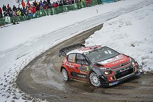 WRC Son dakika Monte Carlo, Citroen'in