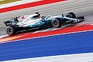 F1 F1アメリカ:完全ドライとなったFP3もハミルトンが首位。2番手ベッテル