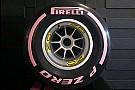 Pirelli muda para rosa cor de ultramacio em Austin