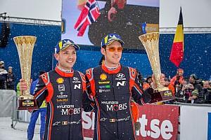 WRC Motorsport.com hírek Képeken a Hyundai nagy ünneplése a Svéd Ralin