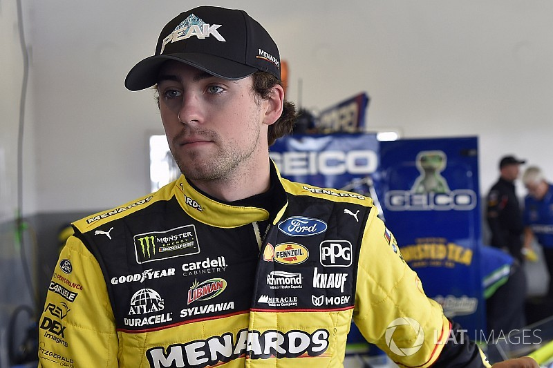 Ryan Blaney no ganó en Daytona, pero es líder de la Copa