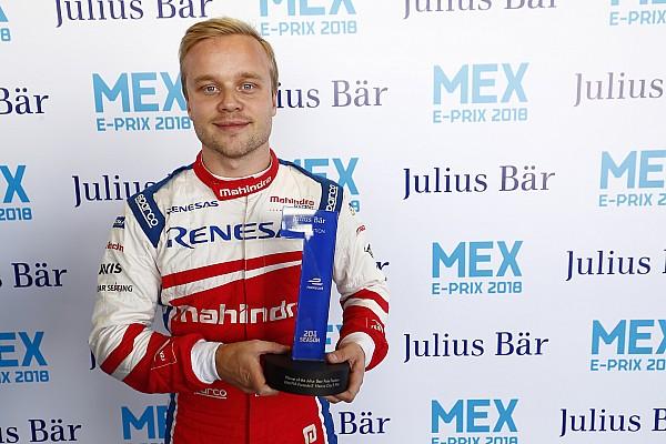 Rosenqvist jókora előnnyel nyerte a Formula E mexikói időmérőjét