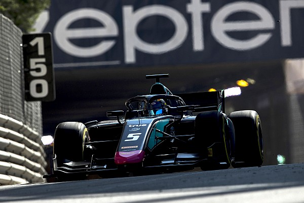 FIA F2 Qualifying report Monaco F2: Albon takes pole by 0.01s as both Carlins crash