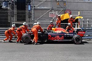 Fórmula 1 Crónica de entrenamientos Verstappen se estrella y Ricciardo lidera antes de la clasificación de Mónaco