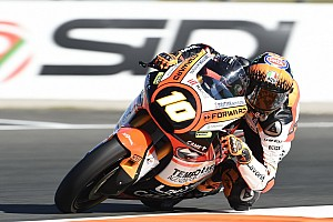 Moto2 Ultime notizie Forward Racing: a Valencia un punto per Baldassarri, Marini nei bassifondi