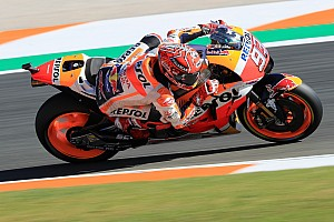 MotoGP Practice report Valencia MotoGP: Marquez tops warm-up for title decider