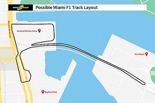 Así es el circuito pensado por Miami para recibir a la F1