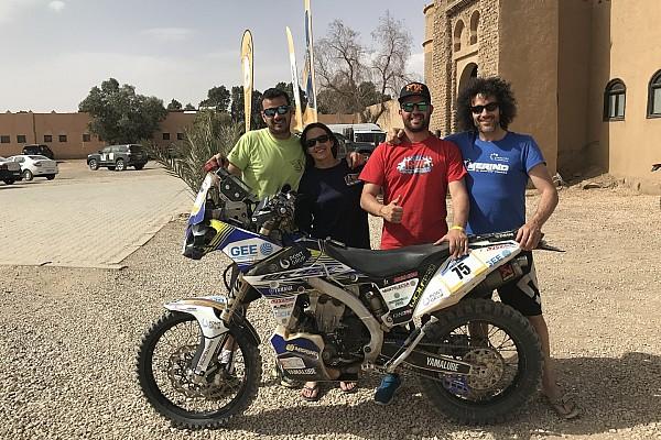 Cross-Country Noticias Los Merino, una familia de aventura por el desierto