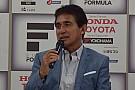 場内解説を担当する鈴木亜久里「福住は速く走るセンスを持っている」