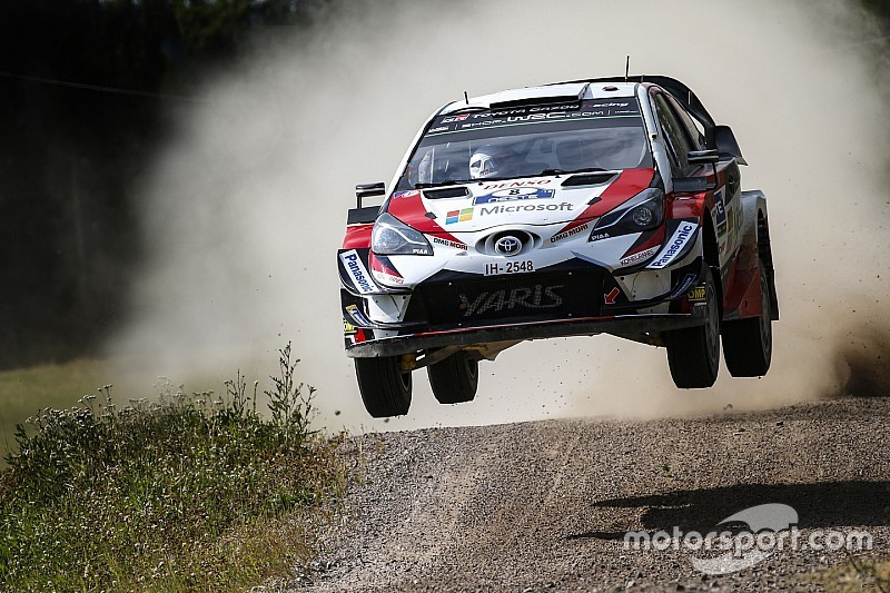 Finland WRC: Tanak set for win as Lappi crashes out