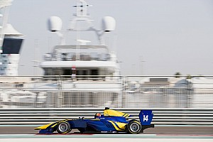GP3 Testing report Kari quickest again in second Abu Dhabi GP3 test day